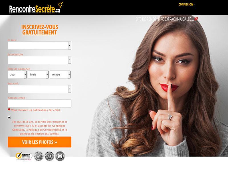 Rencontresecrete.ca – Rencontre Extra-Congugales